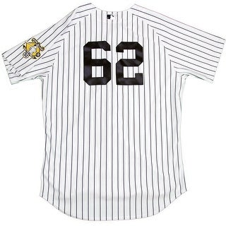 Alan Cockrell Jersey  NY Yankees 2015 Game Used 62 Pinstripe Jersey w Bernie Retirement Patch HZ754