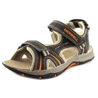 Merrell Panther Open-Toe Leather Fisherman Sandal