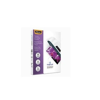 Fellowes 52454 Imagelast Laminating Pouches With Uv Protection