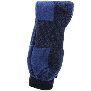 J.B. Fields Mens Ribbed Trim Comfort Thermal Socks - 8-12