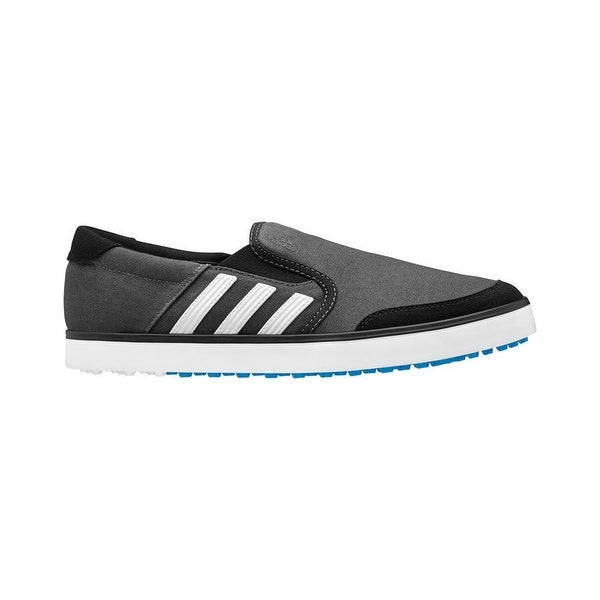 Adidas Men's Adicross SL Black/White/Blue Golf Shoes Q46603