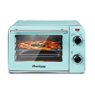 Link to Americana 4 Slice Retro Countertop Toaster Oven ETO1200BL Similar Items in Kitchen Appliances