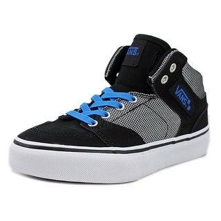 Vans Brooklyn Round Toe Canvas Sneakers