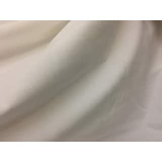 Exclusive Fabrics Off White Velvet Blackout Extra Wide Curtain Panel