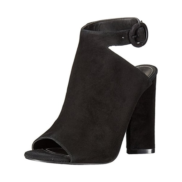 Kendall + Kylie Womens Gigi Booties Suede Open Toe