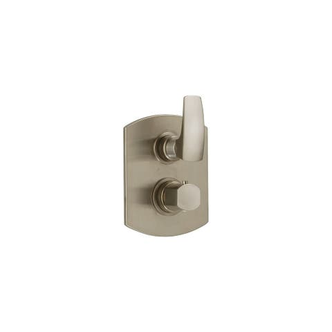 Fortis 8969100 San Marco Thermostatic Valve Trim with Volume Control and Integrated Diverter