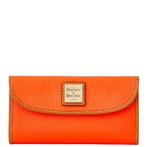Dooney & Bourke Pebble Grain Continental Clutch Wallet (Introduced by Dooney & Bourke at $128 in Jan 2014)