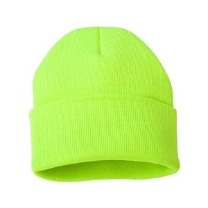 Shop Sportsman 12 Inch Knit Beanie - Safety Yellow - One Size - Free  Shipping On Orders Over  45 - Overstock.com - 16250652 7dd2f140d58d
