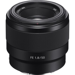 Sony FE 50mm f/1.8 Lens (International Model)