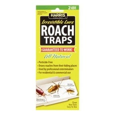 Harris RTRP Roach Traps With Lure, Pack/2