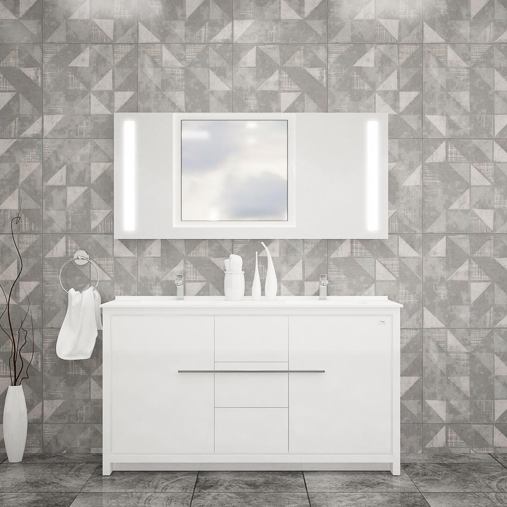"Alessio 60"" Bathroom Vanityr"