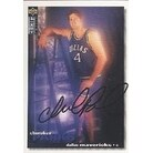 Cherokee Parks Dallas Mavericks 1995 UD Collectors Choice Autographed Card Rookie Card This item