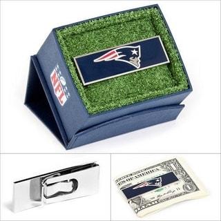New England Patriots Money Clip - navy