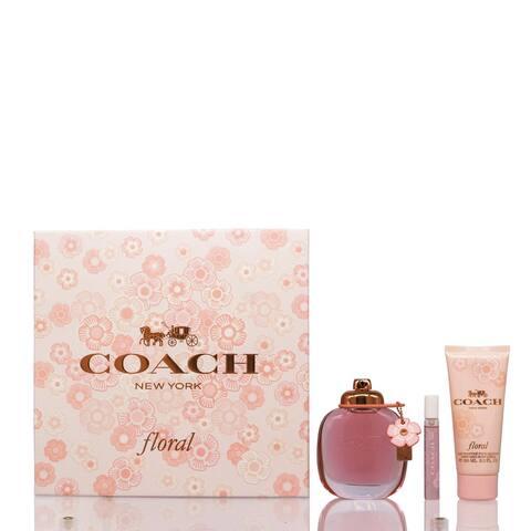 Coach Floral 3-Piece Set for women