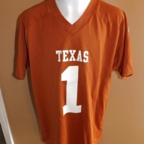 d3672503d Shop -Minor-Flaw Texas Longhorns #1 Youth L Large 14/16 Jersey ...