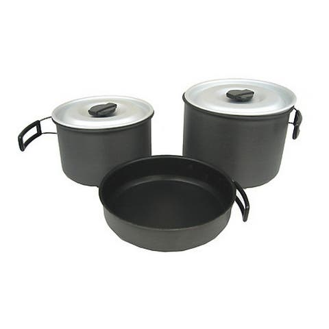 Chinook 41415 chinook 41415 ridge hard anodized cookset, xl
