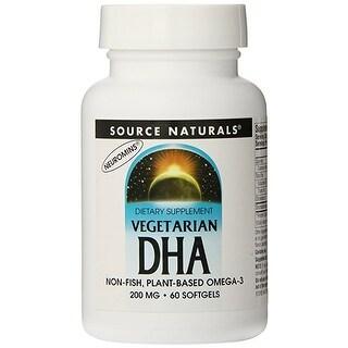 SOURCE NATURALS - DHA Vegetarian 200 mg 60 Softgel 60 SOFTGEL