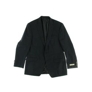 MICHAEL Michael Kors Mens Wool Modern Two-Button Suit Jacket - 44R