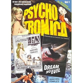Psychotronica Double Feature #1: Delinquent Schoolgirls/ Dream No Evil - DVD