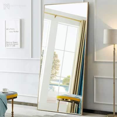 Neutypechic Modern Full Length Floor Mirror with Standing