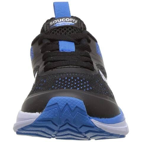 Kids Saucony Girls liteform miles Low Top Lace Up Running Sneaker