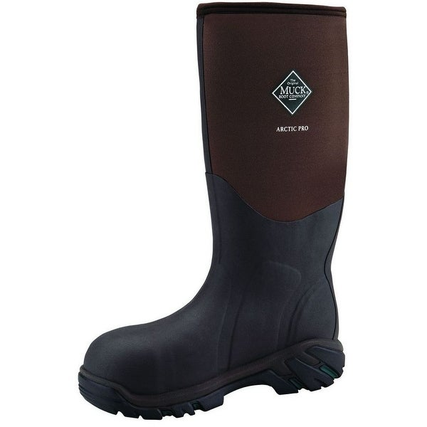 6b83241d95a Muck Boots Mens Arctic Pro ST Outdoor Hunting Work 11 Brown ACP-STL
