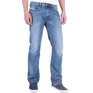 Diesel Men's Larkee Regular Straight-Leg Denim Jean 0088Z