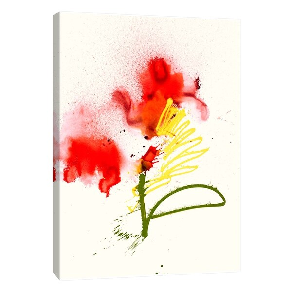 """PTM Images 9-108868 PTM Canvas Collection 10"""" x 8"""" - """"Abstract Rose"""" Giclee Flowers Art Print on Canvas"""