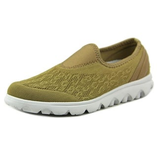 Propet TravelActiv Slip On Women N/S Round Toe Synthetic Walking Shoe