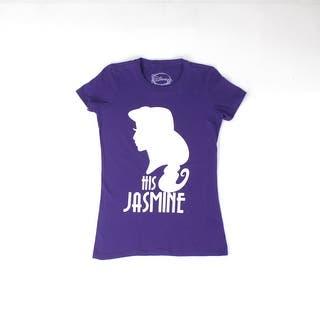 Disney Aladdin His Jasmine Silhouette Women's Purple T-shirt|https://ak1.ostkcdn.com/images/products/is/images/direct/894f683843a04554ac7d19981e362a5173b65828/Disney-Aladdin-His-Jasmine-Silhouette-Women%27s-Purple-T-shirt.jpg?impolicy=medium