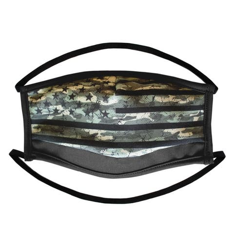 3-Pack Premium 2 Ply Print Reusable Cloth Mask