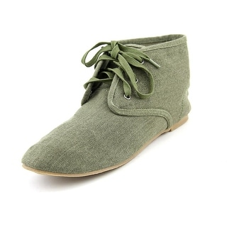 Matisse Sunset Women Round Toe Canvas Green Chukka Boot
