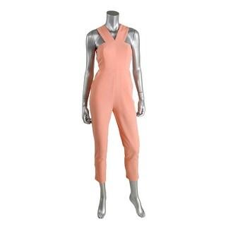 AQ/AQ Womens Shatter Cut-Out Sleeveless Jumpsuit - 2