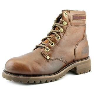 "Caterpillar 6"" Sequoia Round Toe Leather Work Boot"