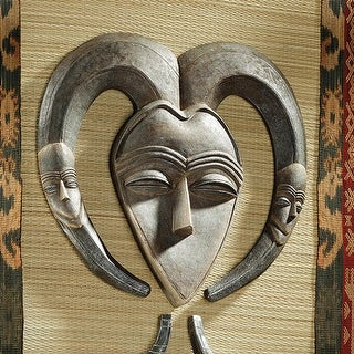 African Tribal Wall Mask: Kwele DESIGN TOSCANO African Art African Mask Africa