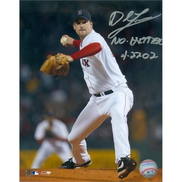 2a1a406308b Shop Derek Lowe Autographed Boston Red Sox Photo Inscribed No Hitter 4 -  Free Shipping Today - Overstock - 23755595