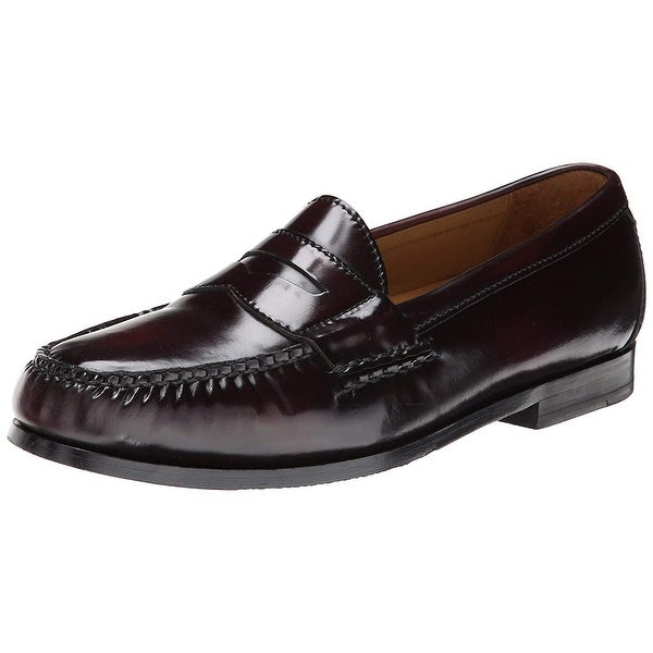 7695a015c81 Shop Cole Haan Mens Grand Penny Leather Closed Toe Penny Loafer ...
