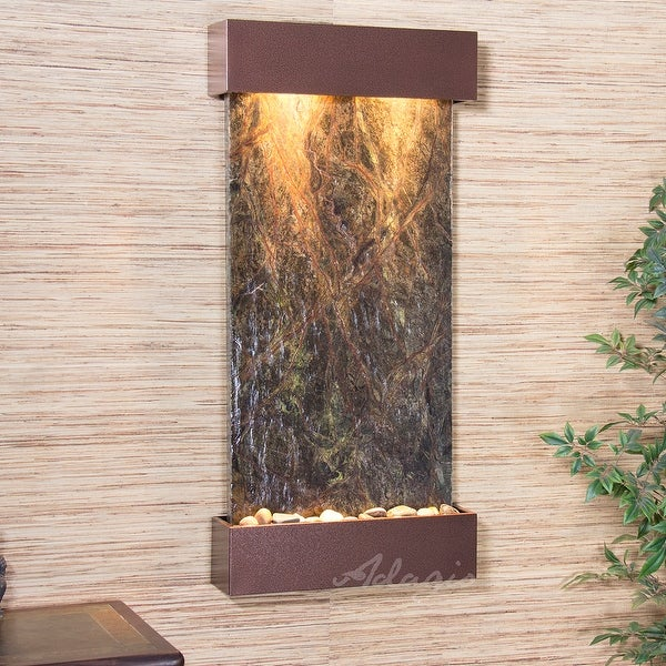 Adagio Reflection Creek Fountain with Antique Bronze Finish - Multiple Colors Available