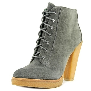 Belle Sigerson Morrison BM6620   Round Toe Suede  Ankle Boot