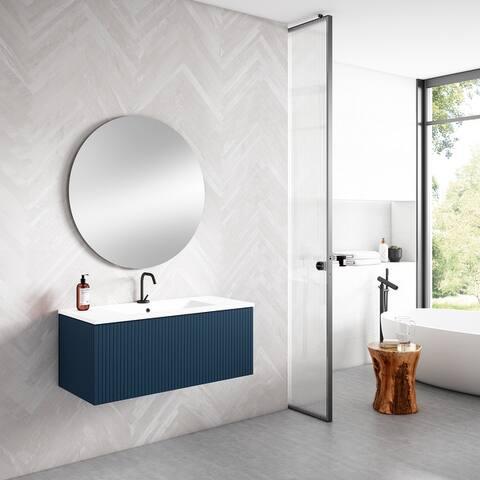 "Lucena Bath 40"" Bari Vanity With Ceramic Sink"