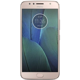 Motorola Moto G5S Plus XT1803 32GB Unlocked GSM 4G LTE Android Phone w/ Dual 13MP Camera - Blush Gold