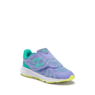 New Balance Baby Girl KVRUSTII Fabric Sneakers - 2 Toddler