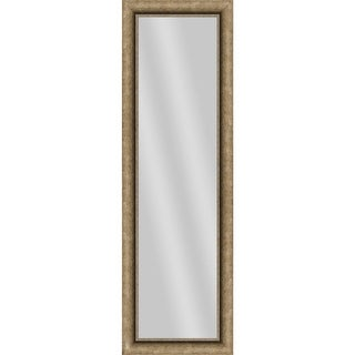PTM Images 5-13699 53 Inch x 17 Inch Rectangular Unbeveled Framed Wall Mirror - N/A