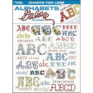 Charts For Less: Alphabets Galore - Leisure Arts