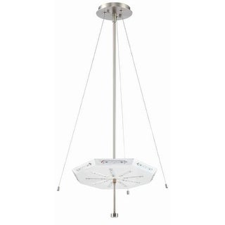 Forecast Lighting FA0077836 A La Carte 1 Light LED Pendant from the Chelsea Collection - Base Only - Satin Nickel
