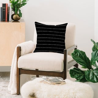 Link to Deny Designs Dot Stripes Indoor/Outdoor Reversible Throw Pillow (4 Sizes) Similar Items in Decorative Accessories
