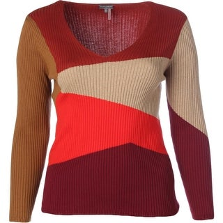 Vince Camuto Womens Cotton Long Sleeves Sweater