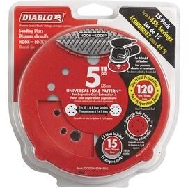 "Diablo 15Pk 5""120G Sanding Disc"