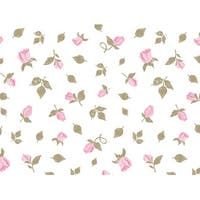 """Pack Of 120, Cottage Rose Garden Recycled Floral Tissue Prints Paper 20"""" X 30"""" Sheets Made In Usa"""