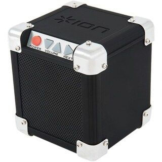ION Rock Block Speaker System - Wireless Speaker(s) - Portable - (Refurbished)